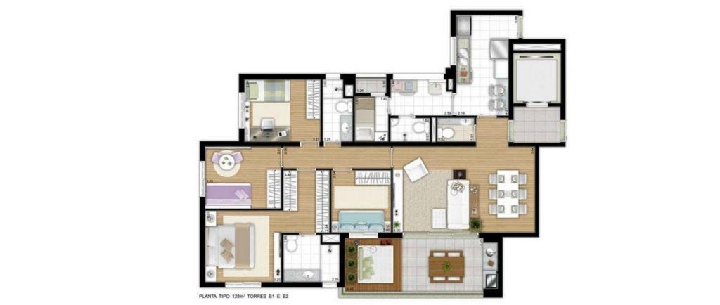 Total Imóveis - Apto 4 Dorm, Barra Funda (1366476) - Foto 2