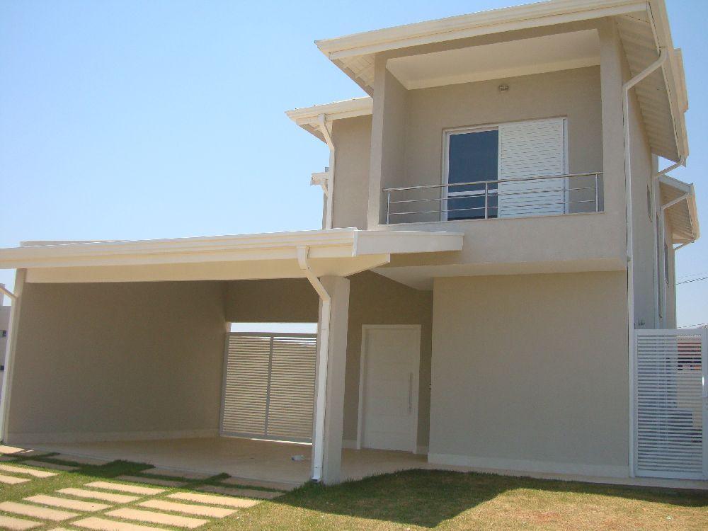 Sobrado residencial à venda, Residencial Real Park, Sumaré.