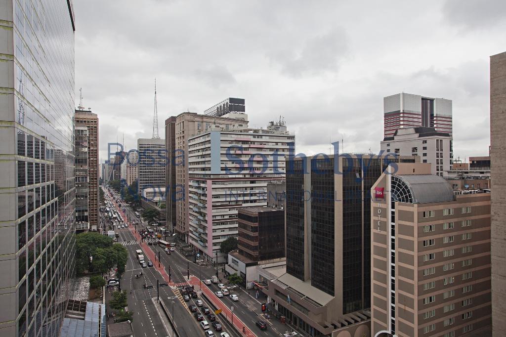 Loft contemporâneo com vista privilegiada da Paulista