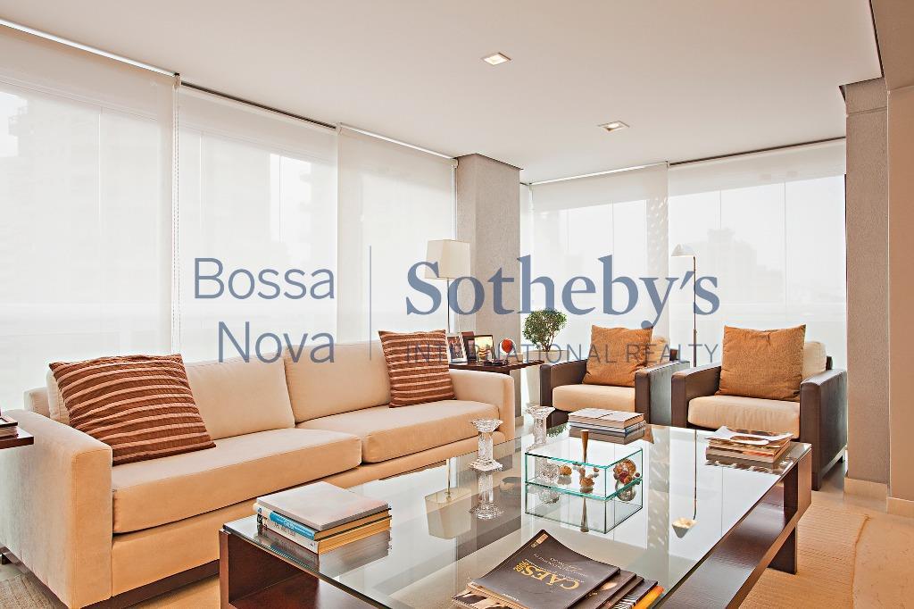 Lindo apartamento em edifício novo para locação com toda a mobília inclusa