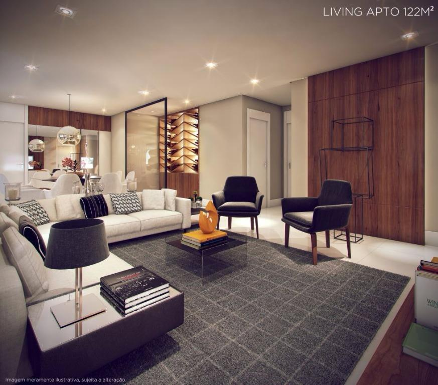 Perspectiva do Living - 122 m²