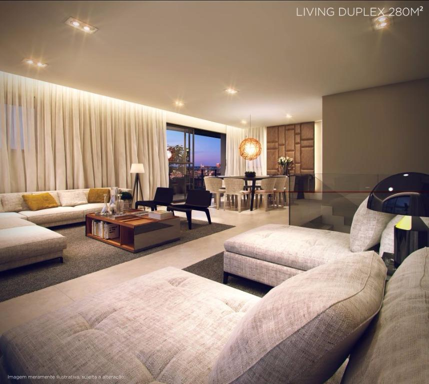 Perspectiva do Living Duplex - 280 m²