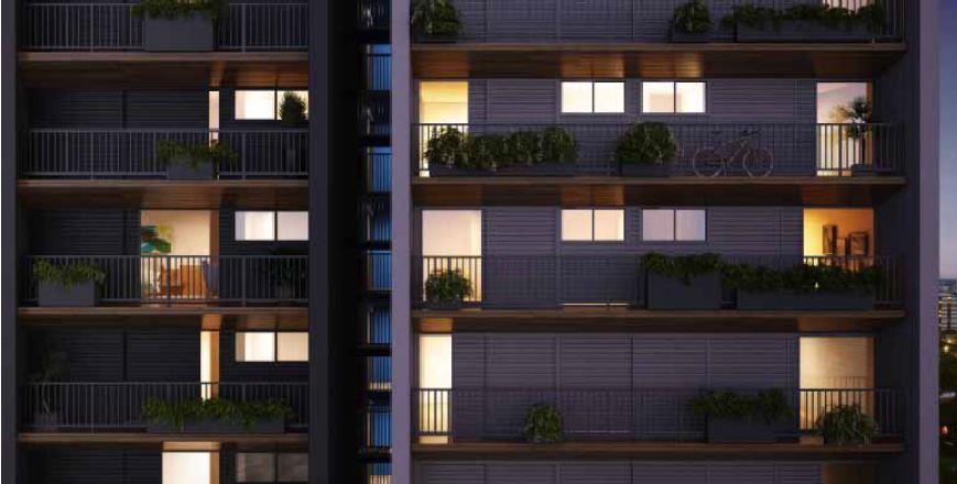 Projeto inovador na Vila Madalena, São Paulo.