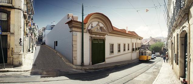 Apartamento na Calçada do Combro, próximo ao Palácio da Mesquita