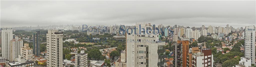Moema com vista do Parque do Ibirapuera