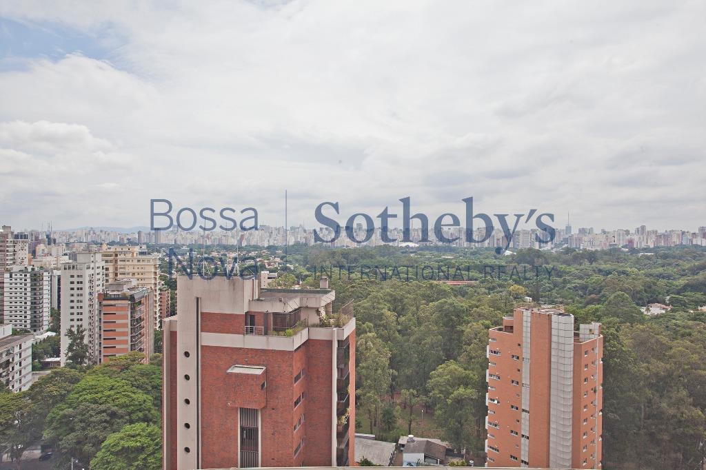 Cobertura com vista para o Parque Ibirapuera