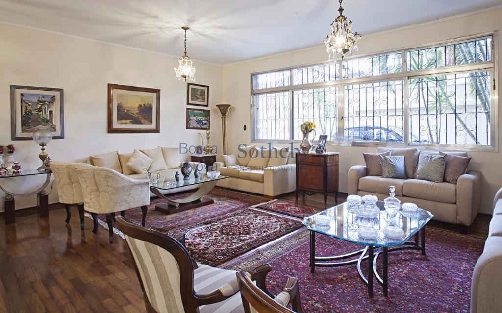 Casa de 4 dormitórios à venda em Jardim Paulistano, São Paulo - SP