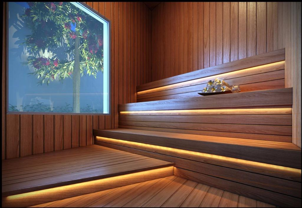 Perspectiva da Sauna