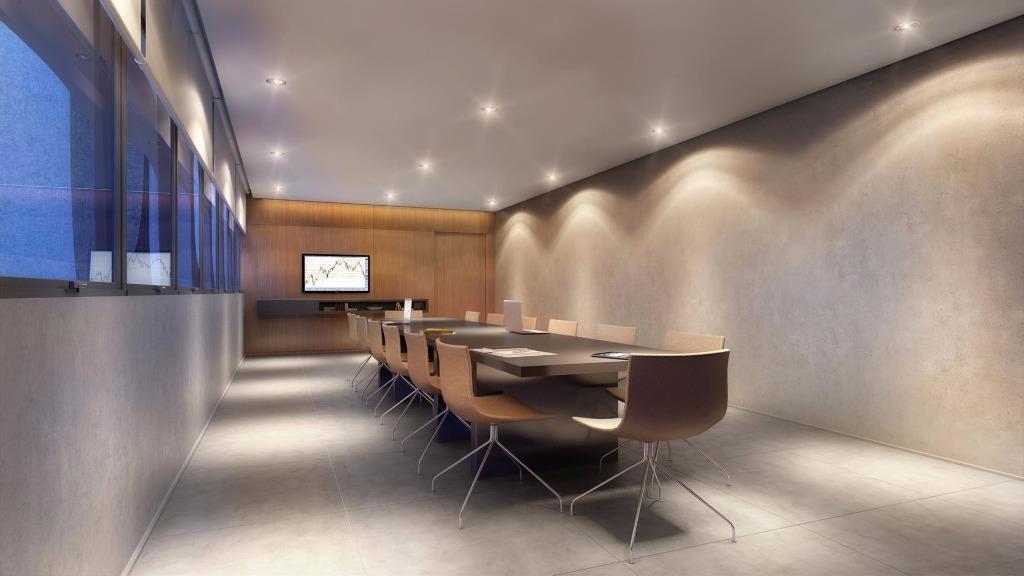 Perspectiva da Sala de Reuniões