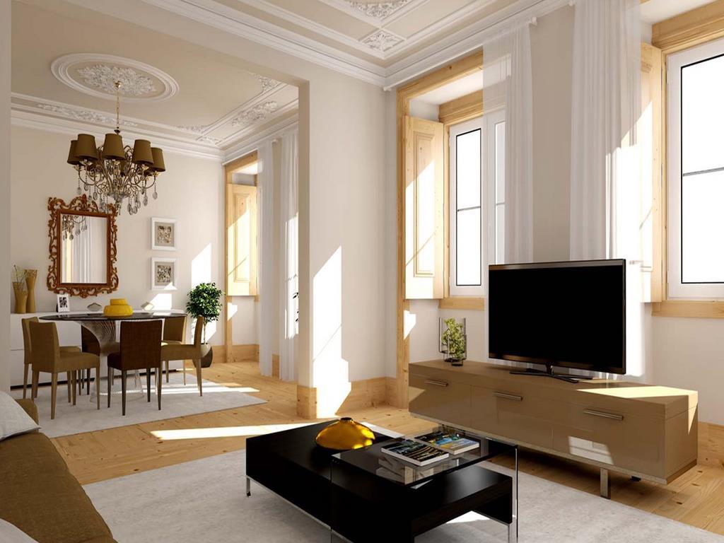 Apartamento no coração de Lisboa  próximo ao rio Tejo