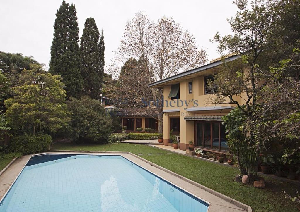 Casa estilo VILA ITALIANA em Alto de Pinheiros