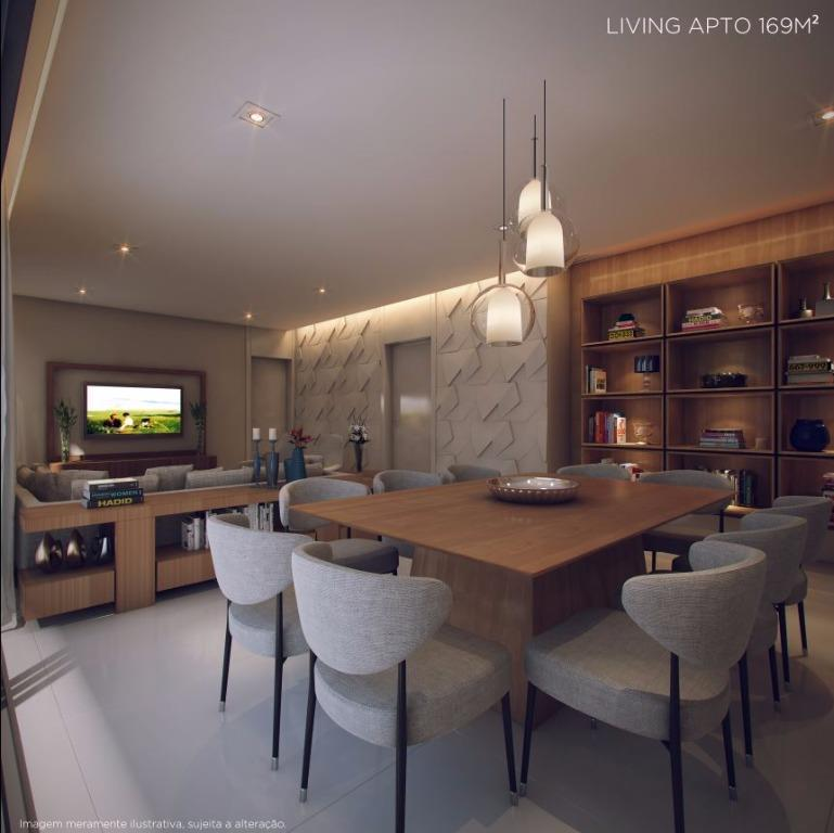 Perspectiva do Living - 169 m²
