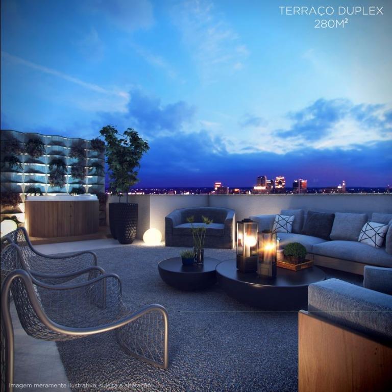 Perspectiva do Terraço Duplex- 280 m²