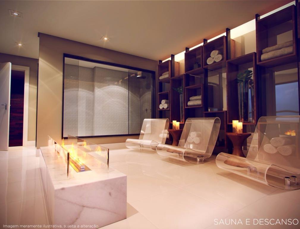 Perspectiva da Sauna e Descanso