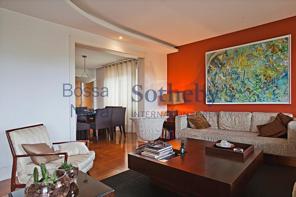 Muito espaço e conforto neste apartamento 100% mobiliado