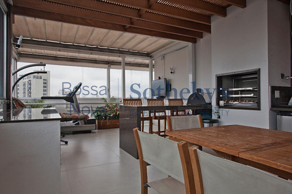 Apartamento Triplex residencial à venda, Indianópolis, São Paulo - AT0015.