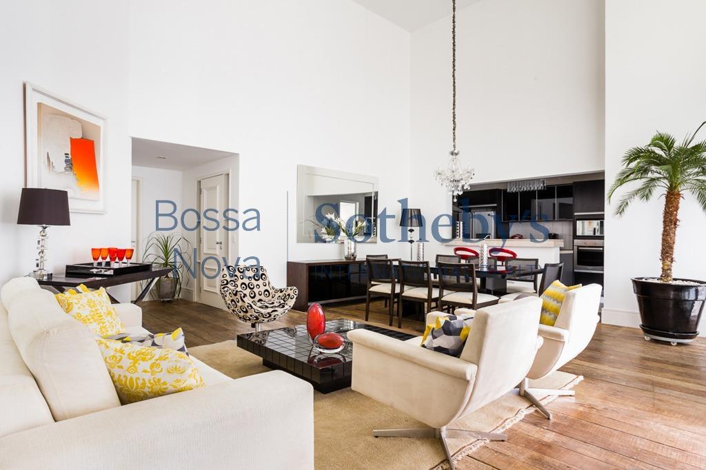 Apartamento residencial à venda, Brooklin Novo, São Paulo.