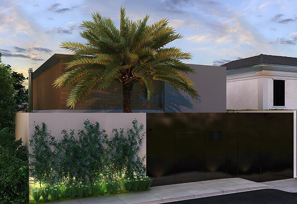 Casa em construção no Jardim Guedala