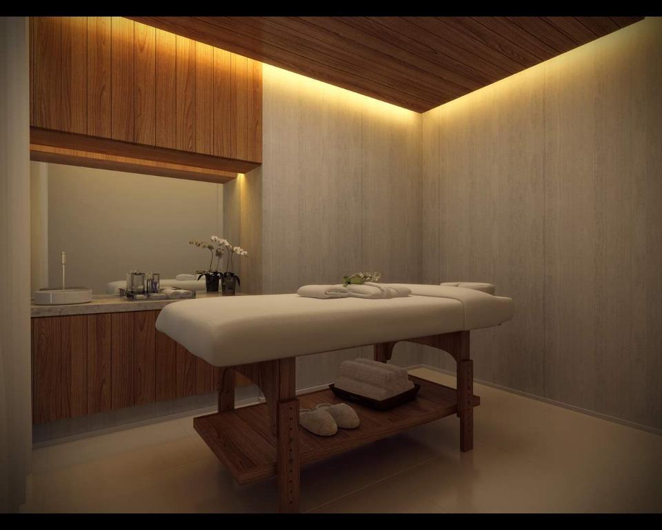 Perspectiva da Sala de Massagem
