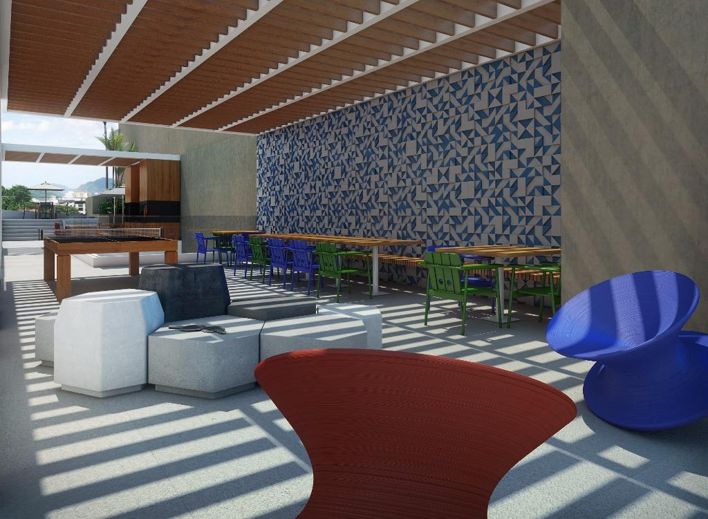Perspectiva do Lounge Teen