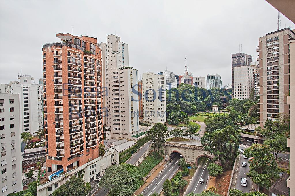 Apartamento descolado, com vista para o parque