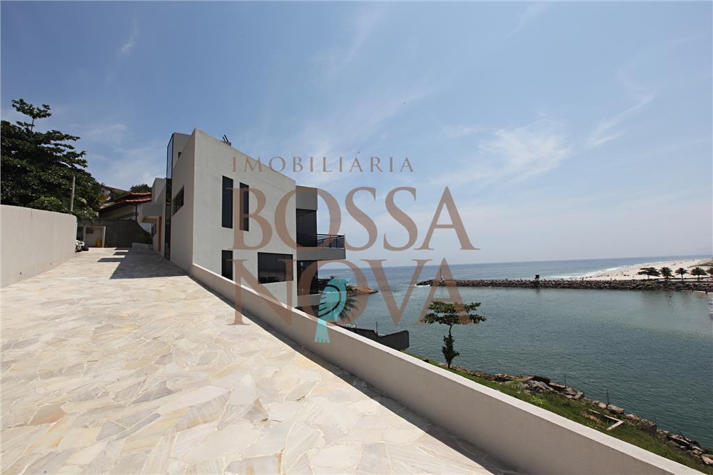 Modernidade com fantastica vista para o mar, canal e um esplendido Por do sol