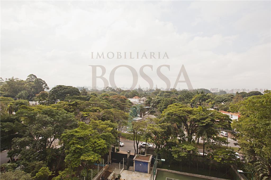 Vista para o Parque Ibirapuera
