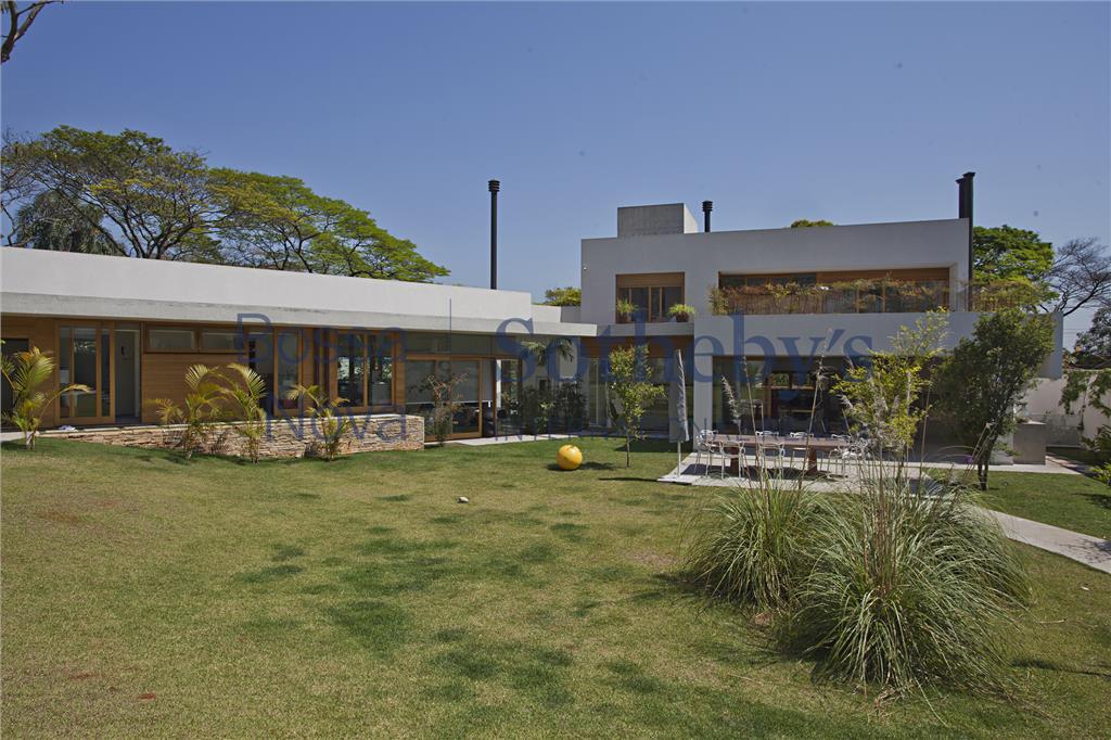 Mansão o Jardim Guedala,nova de arquiteto renomado com imenso jardim e segurança.