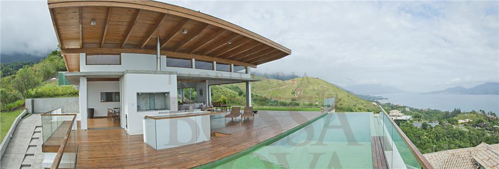 Casa com vista espetacular de Ilhabela.