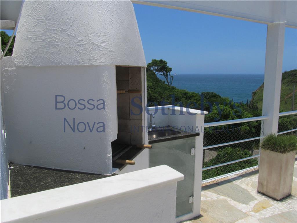 Renomado projeto com estilo contemporaneo e vista mar, Ferradura, Armação dos Búzios.