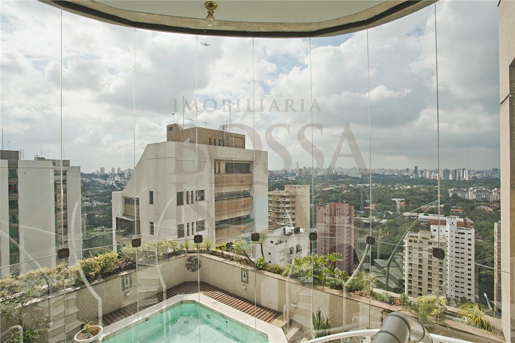 Cobertura duplex com vista panorâmica para o Alto de Pinheiros