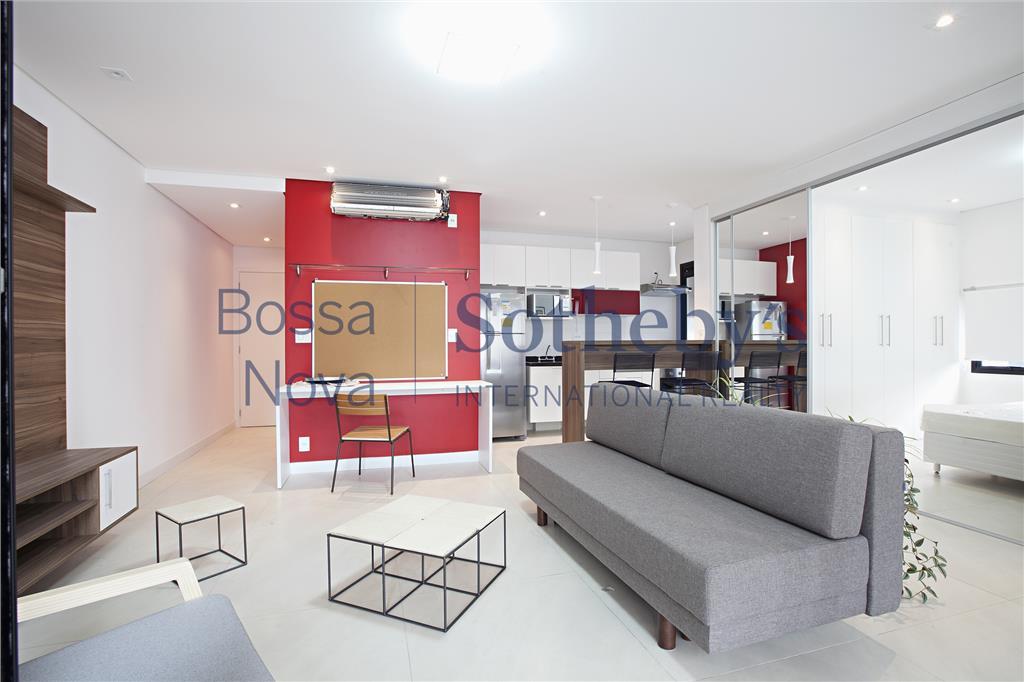 Apartamento decorado com excelente Localização na Vila Olimpia!