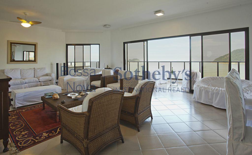 Apartamento Luxo e Sofisticado de frente para o Mar