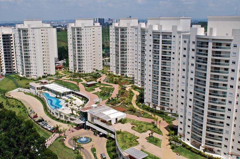 Apartamento  residencial para locação mensal, Tamboré, Santa