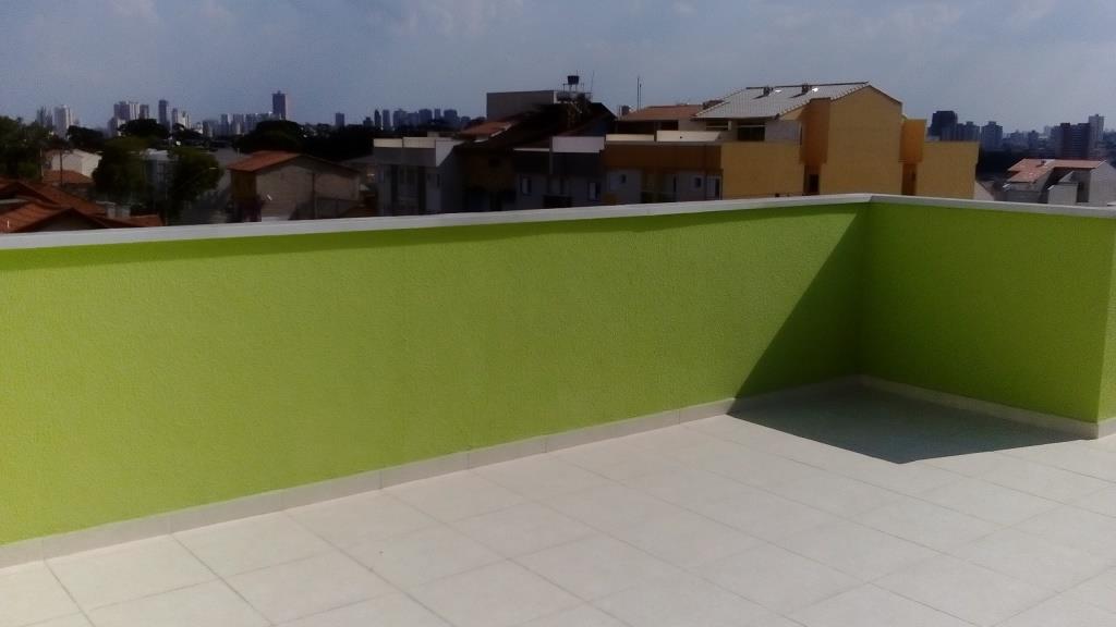 Cobertura de 2 dormitórios em Vila Camilópolis, Santo André - SP