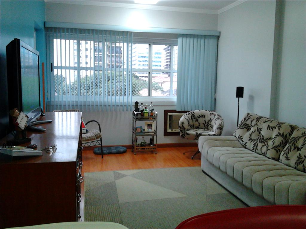 Flat  residencial à venda, Gonzaga, Santos.