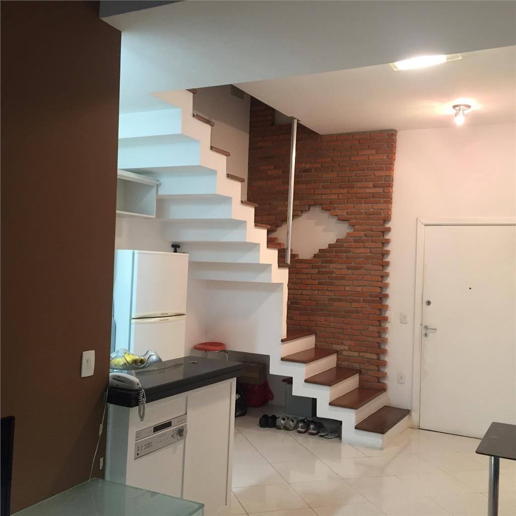 Loft  residencial à venda, Gonzaga, Santos.
