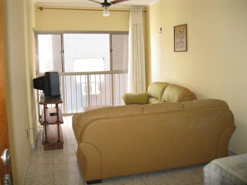 Apartamento  residencial para locação, Itararé, São Vicente.