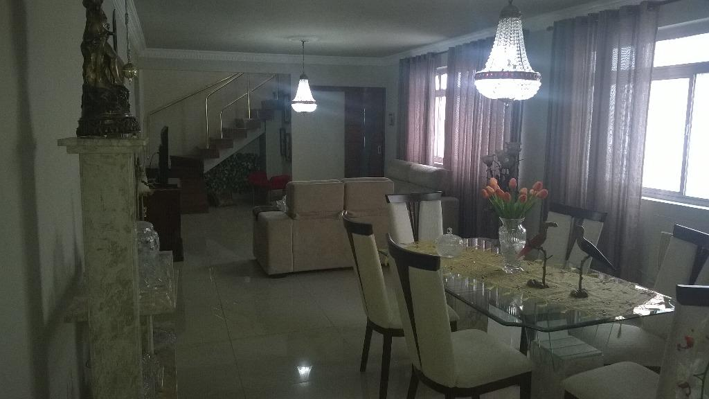 Cobertura 5 Dorm, Gonzaga, Santos (CO0068)