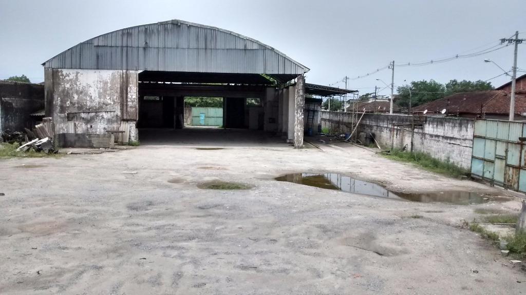 Galpão, Cidade Naútica, São Vicente (GA0012)