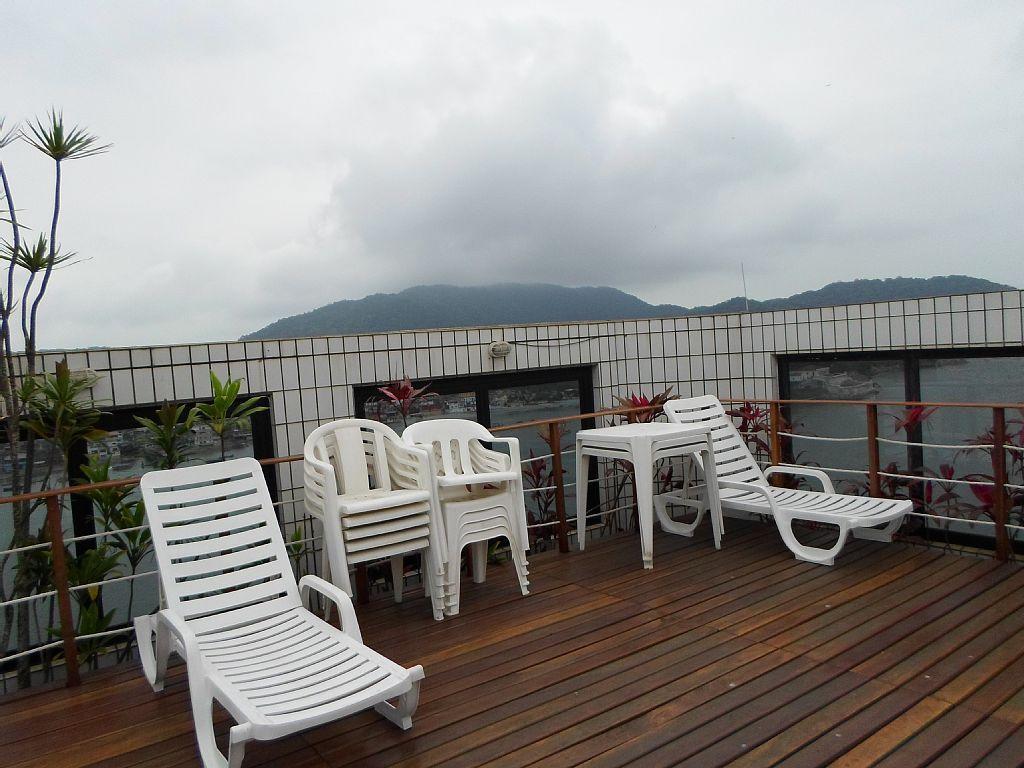 Flat 1 Dorm, Ponta da Praia, Santos (FL0013) - Foto 15