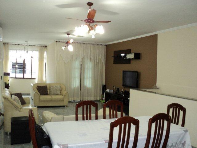 Casa 3 Dorm, Aparecida, Santos (CA0161)