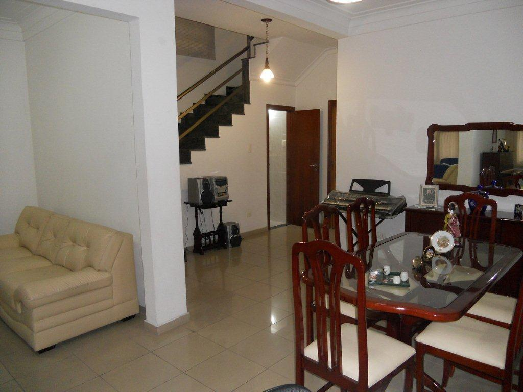 Casa 3 Dorm, Embaré, Santos (CA0249)