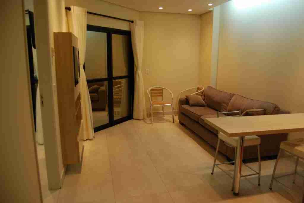 Flat 1 Dorm, Boqueirão, Santos (FL0007) - Foto 2