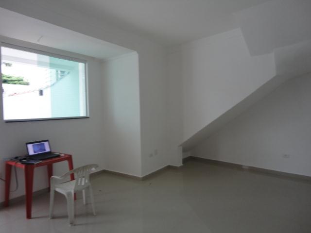 Casa 2 Dorm, Aparecida, Santos (SO0145) - Foto 4