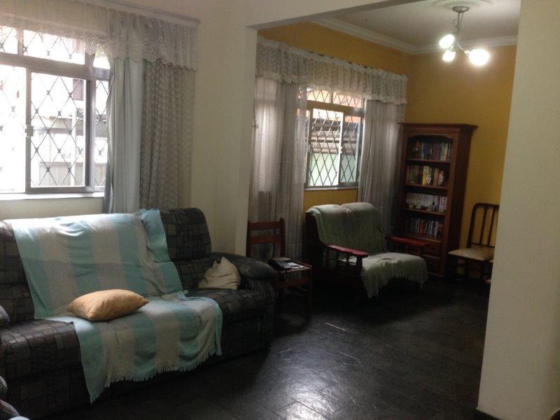 Mello Santos Imóveis - Casa 3 Dorm, Macuco, Santos