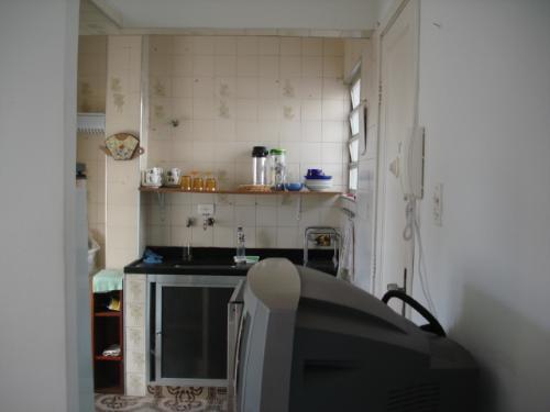 Apto 1 Dorm, Embaré, Santos (AP0117) - Foto 2