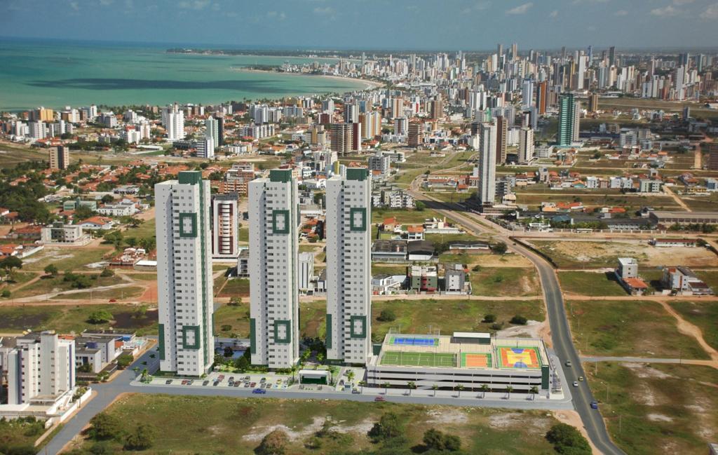 Apartamento com 3 dormitórios à venda, 79 m² por R$ 432.663 - Bessa - João Pessoa/PB