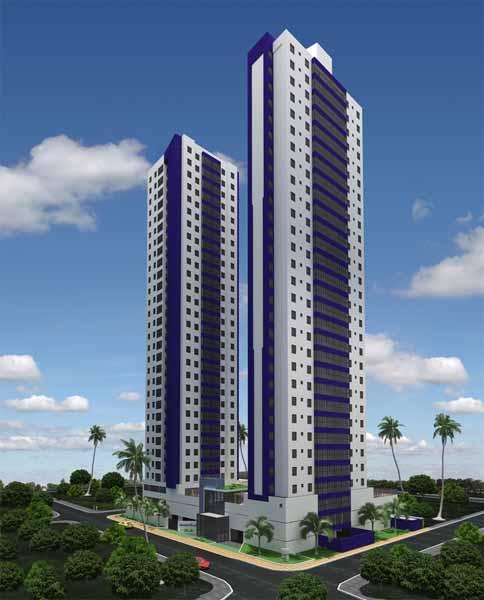 Apartamento com 3 dormitórios para alugar, 61 m² por R$ 2.000/mês - Bairro dos Estados - João Pessoa/PB