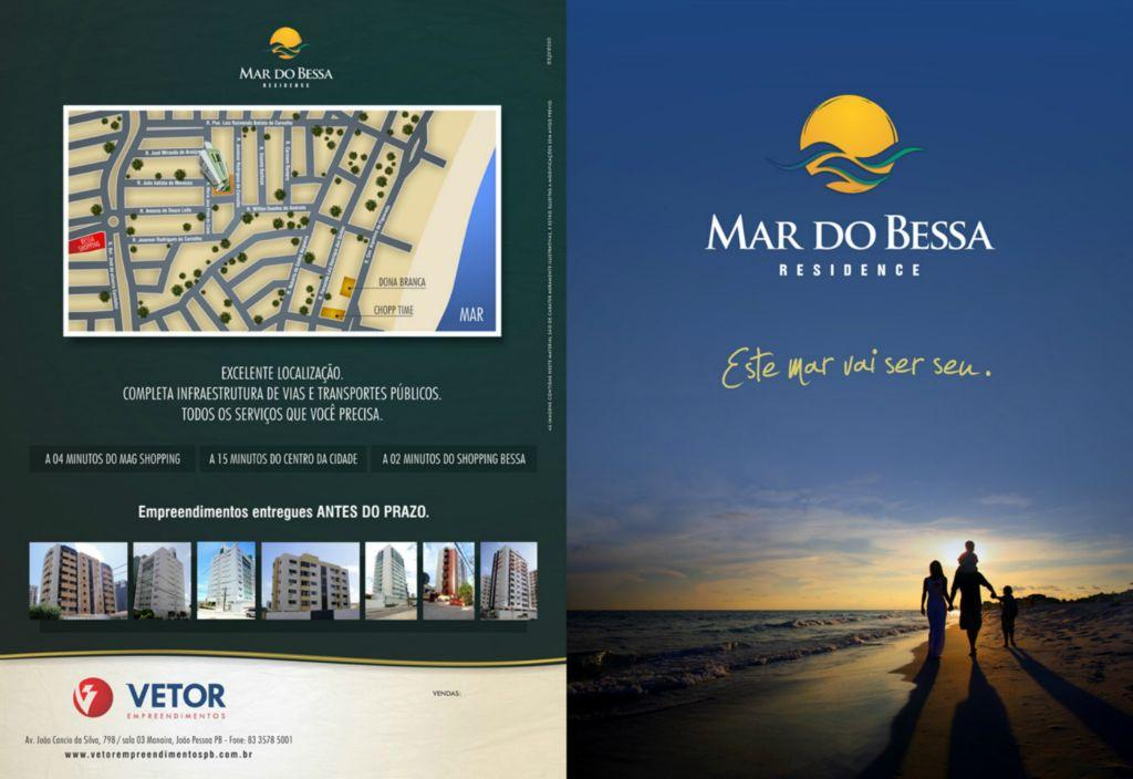 Apartamento com 2 dormitórios à venda, 69 m² por R$ 356.054 - Bessa - João Pessoa/PB